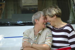lesbian marriage happy